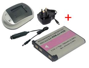 OLYMPUS µ 725SW battery