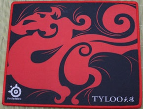RAZER RED RAZER SPEED EDITION GAMING MOUSE PAD